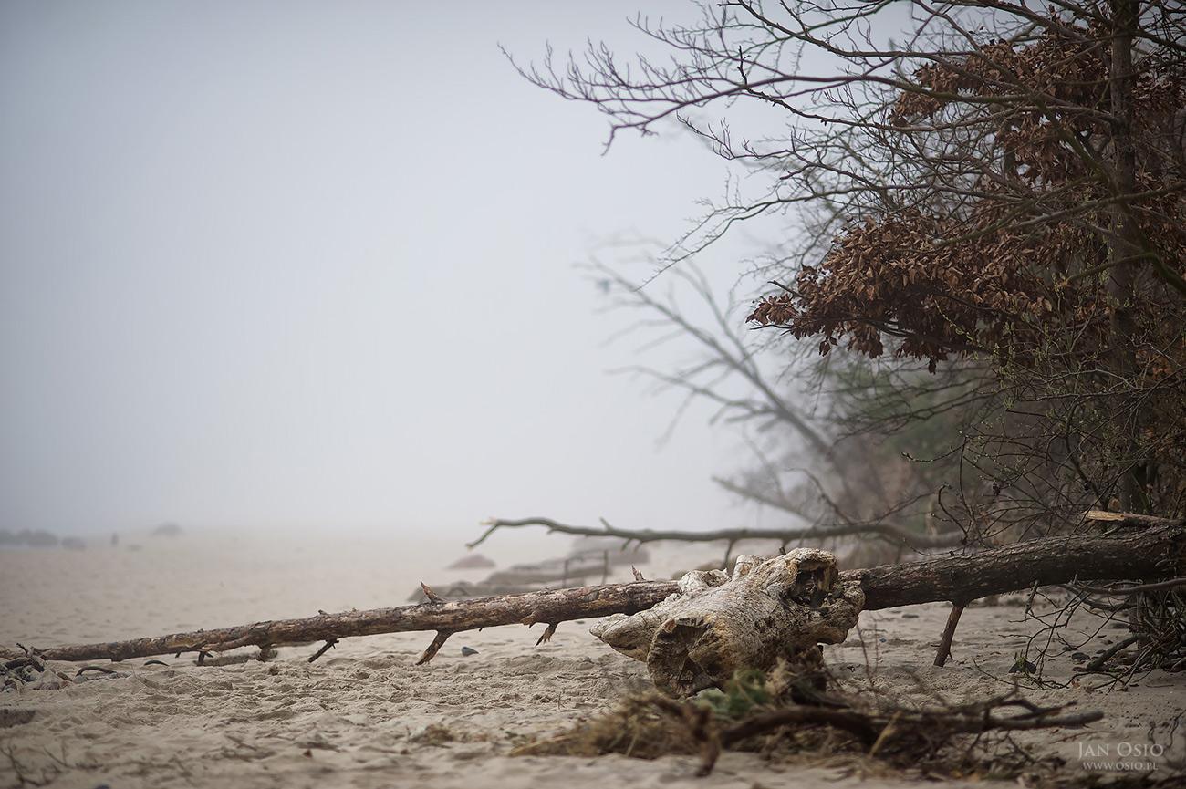 Plaża w Międzyzdrojach   Jan Osio Fotograf